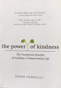 book cover power of kindness